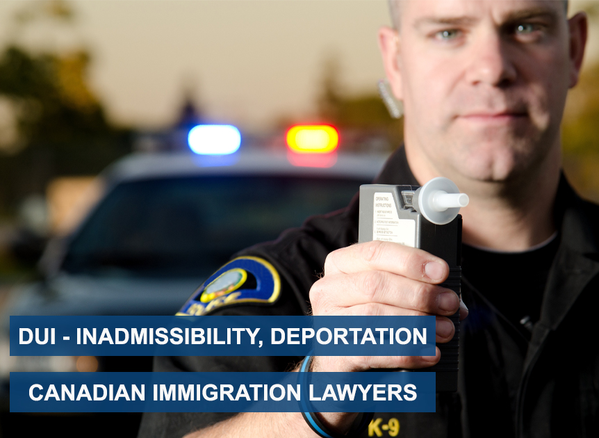 DUI Inadmissible Canada